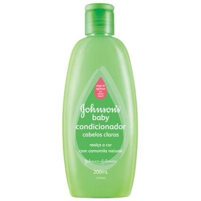 Condicionador Johnsons Baby de Camomila Natural - 200ml - Johnson e Johnson