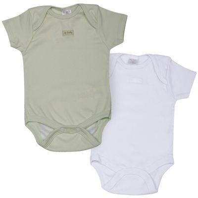 Kit-Body-Basico-em-Suedine---2-Pecas---Verde-e-Branco---Up-Baby---A0600