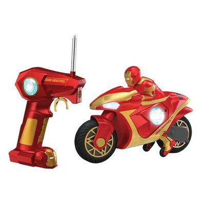 Motocicleta-Iron-Man-3-com-Controle-Remoto---Yellow-