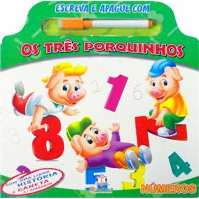 Livro---Escreva-e-Apague-com-os-Tres-Porquinhos---Blu-Editora-