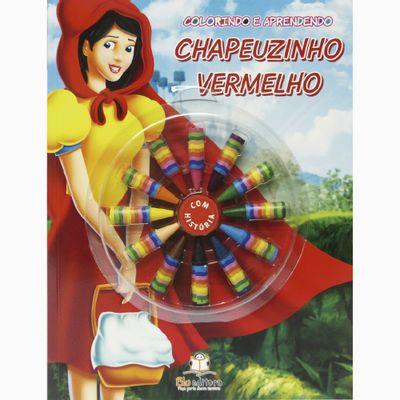 Livro---Colorindo-e-Aprendendo---Chapeuzinho-Vermelho---Blu-Editora-