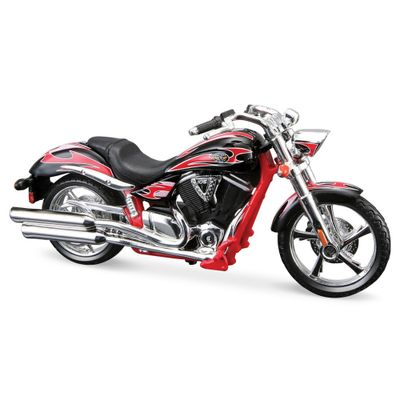 Moto-Victory-Vegas-Jackpot-Vermelha-Fresh-Metal-2-Wheelers-1-18-Maisto