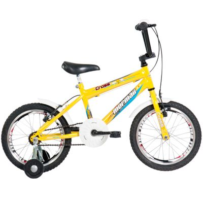 Bicicleta Aro 16 Top Lip Amarela - Mormaii