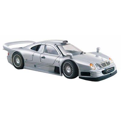 Carro-Mercedes-Benz-CLK-GTR-Street-Version-Kit-de-Montagem-1-24-Maisto