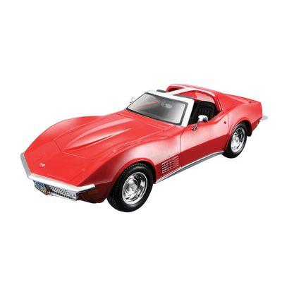 Carro-Corvette-Stingray-Kit-de-Montagem-1-24-Maisto