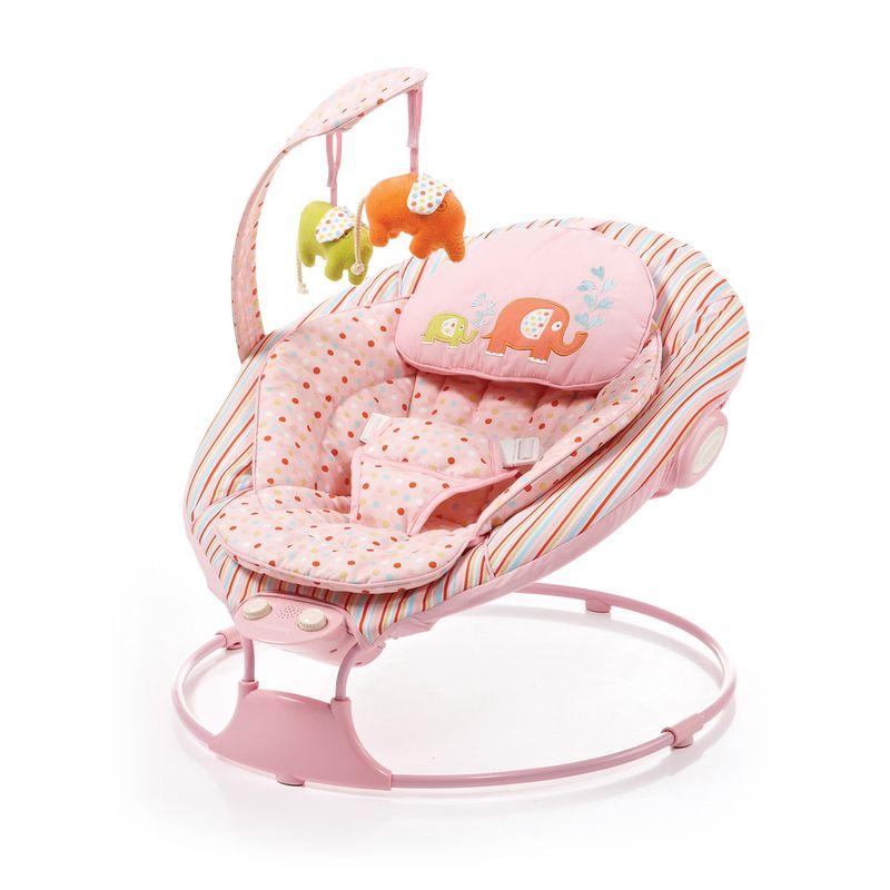 Cadeirinha de recém-nascidos Bouncer Baby Confort Rosa