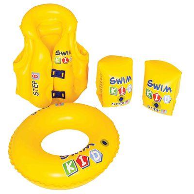 Conjunto-Infantil-para-Treino-de-Natacao---New-Toys