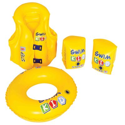 Conjunto Infantil para Treino de Natação - New Toys