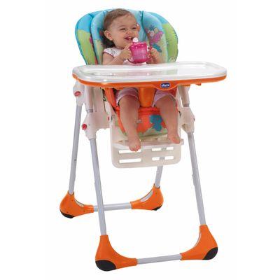 Cadeira de Alimentação com Encosto de 3 Posições - New Polly 2 em 1 - Wood Friends - Chicco