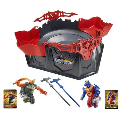 Conjunto-de-Baltalha-Beyblade-Beywarrior-Showdown-Hasbro