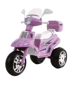 Mini-Moto-Eletrica---Scooter-City-Lilas-6V---Biemme