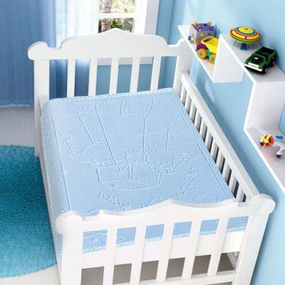 Cobertor-Infantil-Raschel-com-Relevo-Touch-Texture-Azul-Jolitex