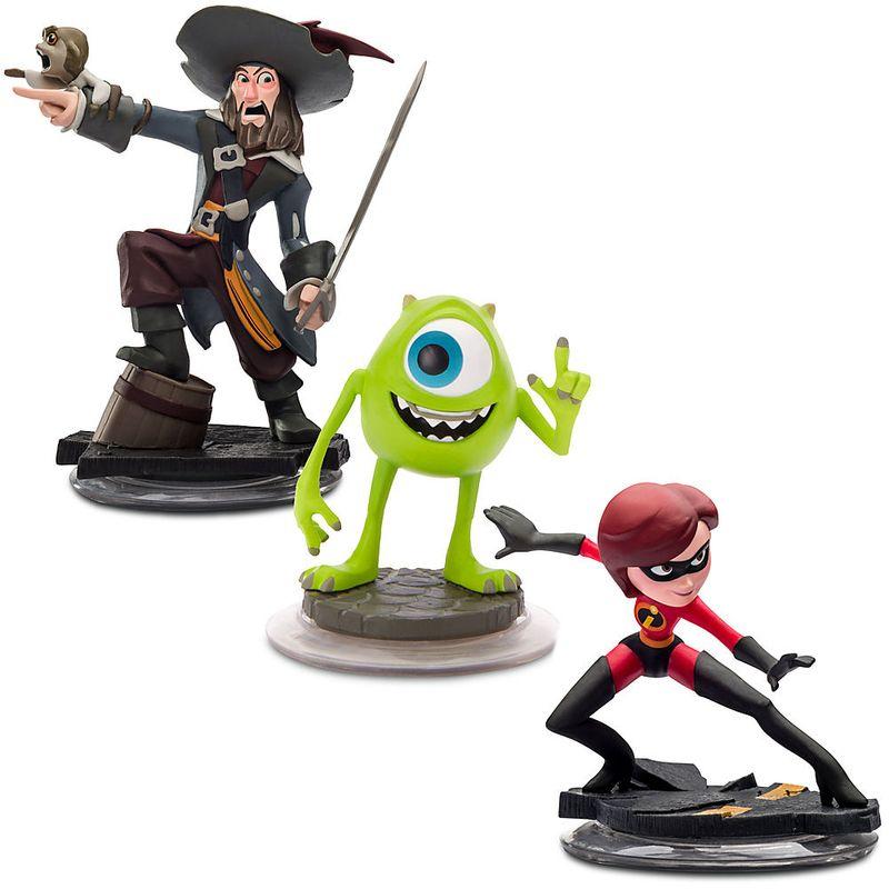 Comprar Figuras Disney Infinity Sra. Incrível, Barbossa e Mike Multi-Plataforma
