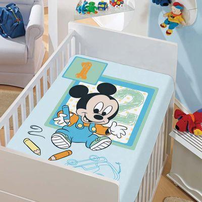 Manta-de-Microfibra-Disney-Mickey-Desenhando-Azul-Jolitex