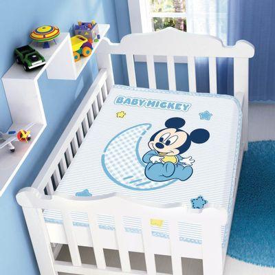 Cobertor-Raschel-Disney-Baby-Mickey-Azul-Jolitex