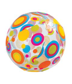 Bola-de-Praia-Argolas-Coloridas-Transparente-Intex