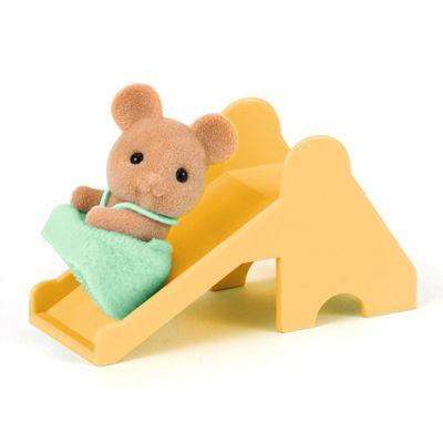 Sylvanian Families - Bebê Rato com Escorregador - Epoch