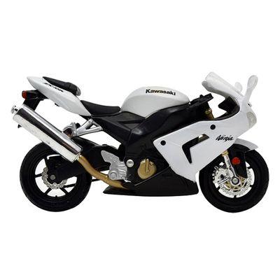Moto-Kawasaki-Ninja-ZX-10R-Branca-Fresh-Metal-2-Wheelers-1-18-Maisto