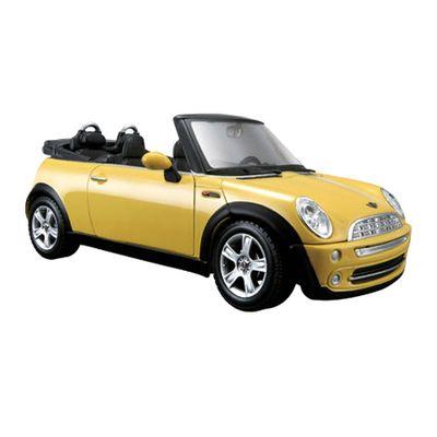 Carro-Mini-Cooper-Cabrio-Amarelo-Special-Edition-1-24-Maisto