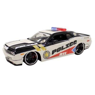 Carro-Colecionavel-Pro-Rodz-Dodge-Challenger-Police-Maisto