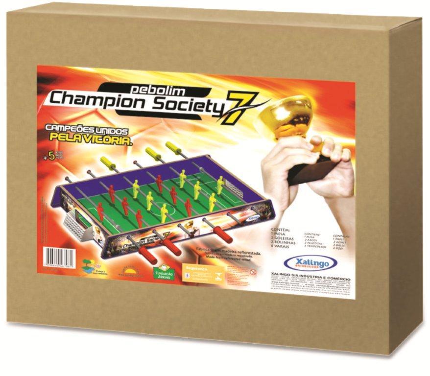 Pebolim Champion Society - Xalingo