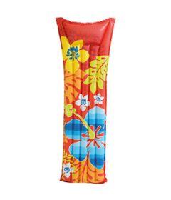 Colchao-Inflavel-Fashion---Flores-Vermelho---Intex---59720