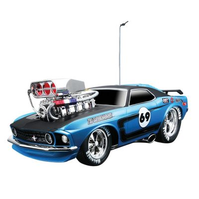 Carro-Controle-Remoto-Ford-Mustang-Boss-302-1969-Muscle-Machines-1-18-Maisto