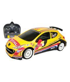 Carro-de-Controle-Remoto-Peugeot-207-IRC-Belgium-1-16-Nikko