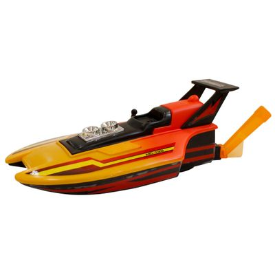 Lancha-Hydro-Craft-Laranja-New-Toys