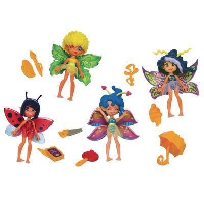 Conjunto-Fairykins---Magical-Pixies---4-Fadas---Lanard---84207