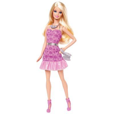 Boneca Barbie Fashionistas - Balada - Barbie com Vestido Rosa - Mattel