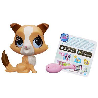 Figura-Littlest-Pet-Shop-com-Movimento---Collie---Hasbro