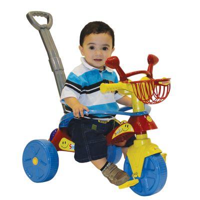 Com-Crianca-Triciclo-Smile-Confort-Vermelho---Biemme