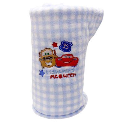 Manta-de-Microfibra-Bordada-Disney-Carros-Azul-e-Branca-Jolitex2