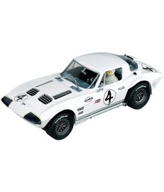 Carro-para-Pista-Eletrica---Chevrolet-Corvette-Grand-Sport-1964---1-24---Carrera