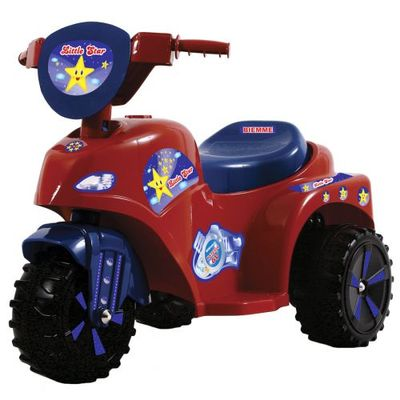 Mini-Moto-Eletrica---Little-Star-Vermelha-6V---Biemme