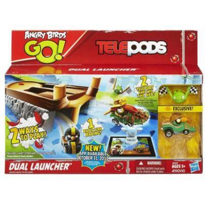 Angry Birds Go! Lançador Duplo Telepods - Hasbro
