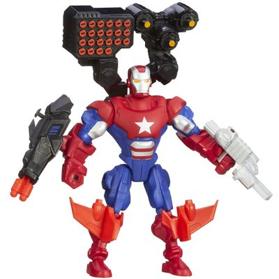 Boneco-Marvel-Super-Hero-Mashers-Battle---Patriota-de-Ferro---Hasbro---A6834