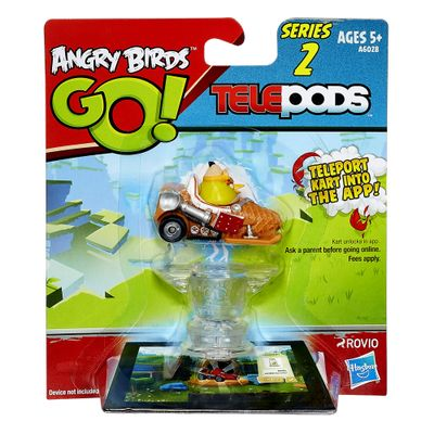 Telepods Angry Birds GO! Veículo - Chuck - Série 2 - Hasbro