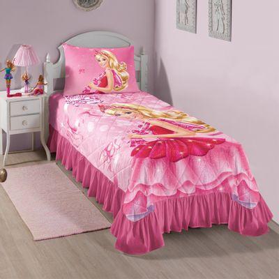Conjunto-Colcha-Matelasse-e-Fronha---Barbie-e-as-Sapatilhas-Maginas---Lepper---4557701