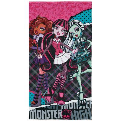 Toalha-de-Praia---Monster-High---Rosa---Lepper---4180801