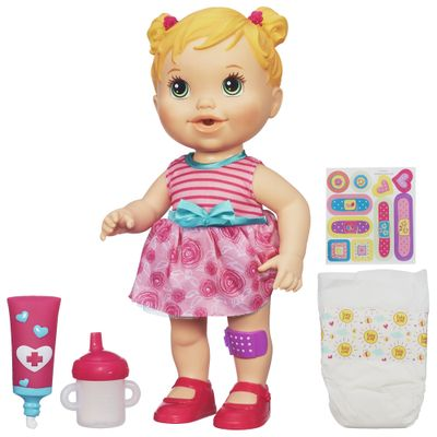 Boneca Baby Alive - Machucadinho Loira - Hasbro