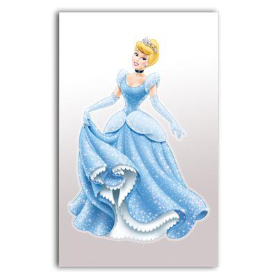 Adesivo de Parede Princesas - 40x22 cm - Gedex