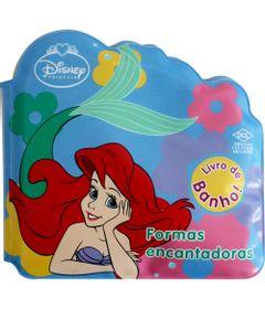 Livro-de-Banho-Formas-Encantadoras-Ariel-Disney