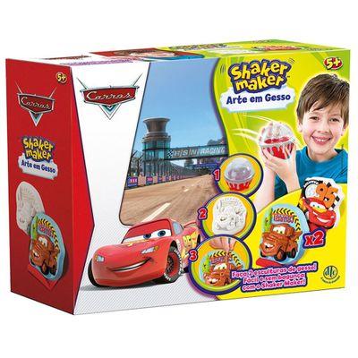 Arte em Gesso - Shaker Maker - Disney Carros - DTC