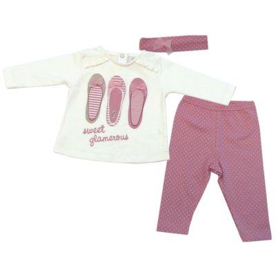 Conjunto-Sweet-Glamerous-Sapatilha---Rosa-e-Creme---Tilly-Baby---142200