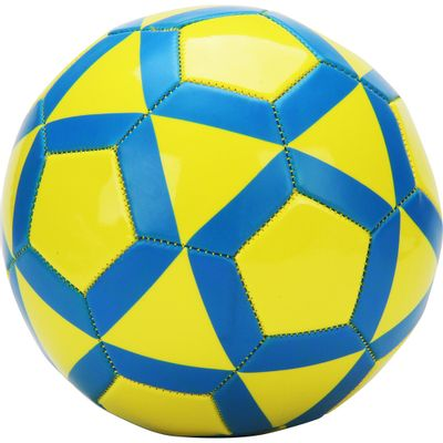 Bola de Futebol - Amarelo e Azul - DTC