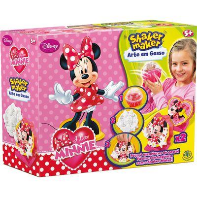 Arte em Gesso - Shaker Maker - Disney Minnie - DTC