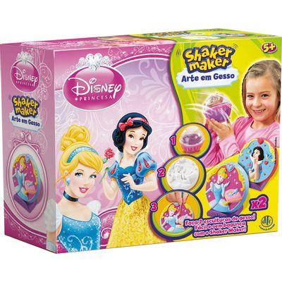 Arte em Gesso - Shaker Maker - Disney Princesas - DTC