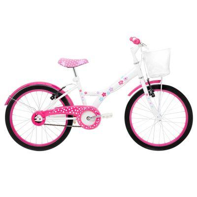 Bicicleta-Aro-20---Aco-My-Bike-Branca-com-Cesta-e-Pneus-Pretos---Tito-Bikes